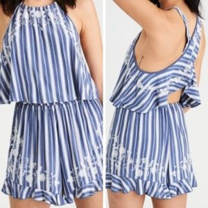 American Eagle Outfitters Knit Halter Romper